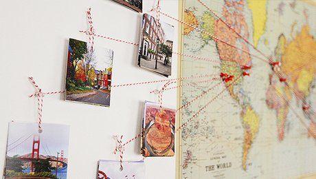 Globe-trotter dans l'âme, vous aimez voyager de pays en pays ? Vous possédez d'innombrables photos de vos vacances à l'étranger ? Avez-vous pensé les mettre à l'honneur dans votre décoration d'intérieur ? Margot du blog http://www.youmakefashion.fr/ montre la technique pour créer soi-même un planisphère déco de vos voyages. Ce travel map anime joliment un mur en évoquant l'aventure, l'évasion et la découverte. Il n'est pourtant pas difficile à réaliser. Il suffit d'une carte du monde, de…