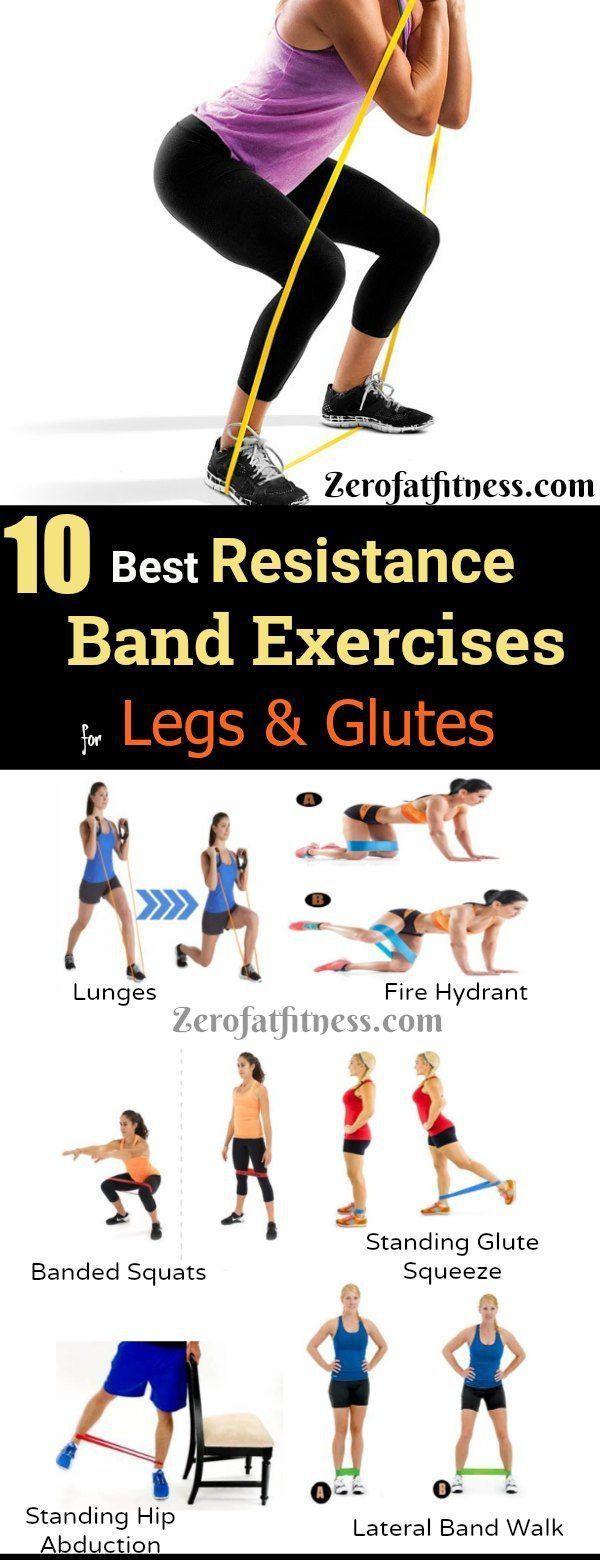10 beste Widerstandsbandübungen für Beine und Ge…