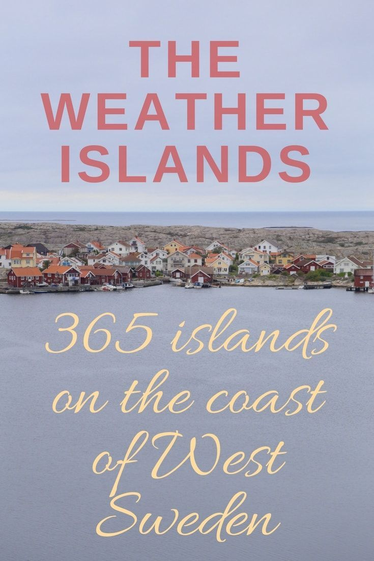 Sweden Travel: The Weather Islands. The Weather Islands are a cluster of 365 isles, only one of which is inhabited by a guesthouse and its employees. If you love quiet islands, colorful buildings, and seafood, a visit to Sweden's Weather Islands is a must - click through to read about our experience on the Weather Islands of Sweden. | Camels and Chocolate #sweden #weatherislands #seafood