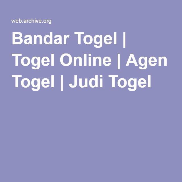 Bandar Togel | Togel Online | Agen Togel | Judi Togel