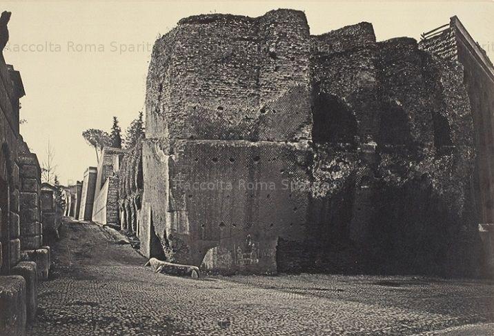 Viale del Muro Torto Anno: 1870 ca.