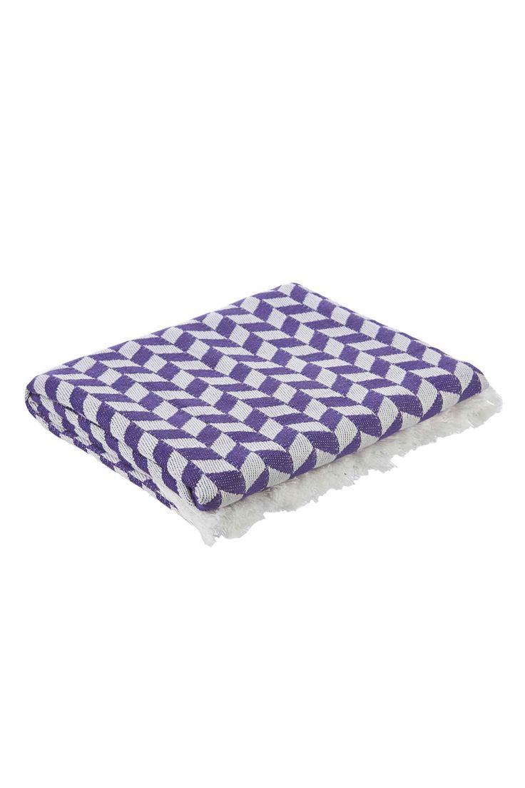 La palma, Sea you Soon Purple Beach Towel