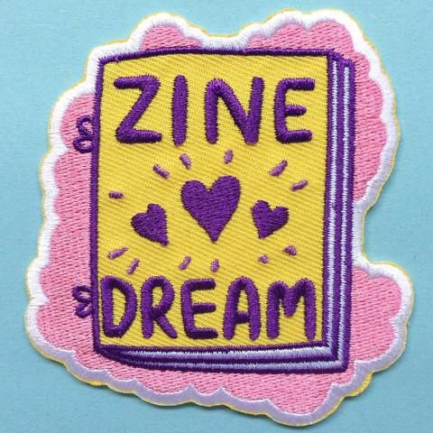 Dream no longer, you can express your love for DIY zine culture in patch form, on your denim jacket, backpack or tote bag. Patch by Ashley Ronning from Australi