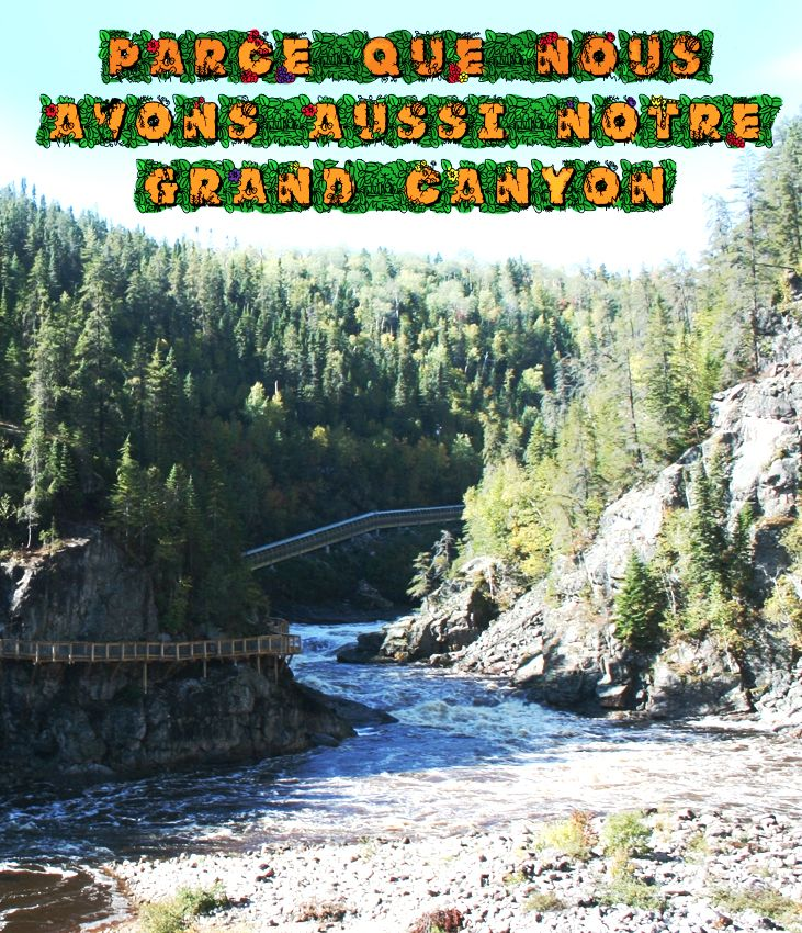 Raison #156 de visiter le Saguenay-Lac-Saint-Jean cet été : Parce que nous avons aussi notre grand canyon. #175raisons #qcoriginal