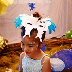 How to make a butterfly mask