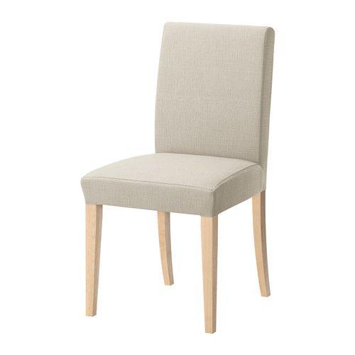 HENRIKSDAL Chaise - Nolhaga beige clair, - - IKEA