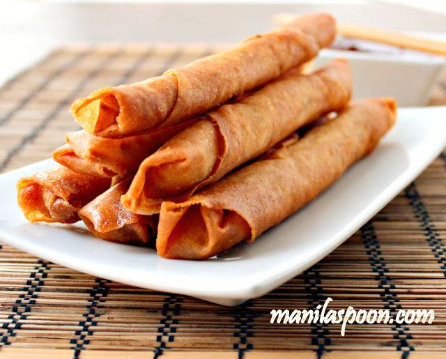That these are the best spring rolls is no exaggeration. Whenever I serve these Lumpia, they're gone in seconds. True crunchy deliciousness in every bite. Bring these Lumpiang Shanghai to your next party and you'll be the star!
