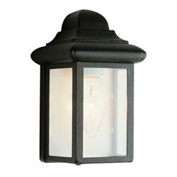 Fowler 8 Inch High Pocket Light Black Wall Mounted Outdoor Outdoor Wall Lighting Outdo