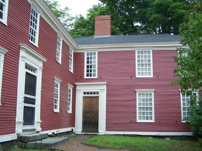 Gilman Garrison House Museum -- Exeter, New Hampshire