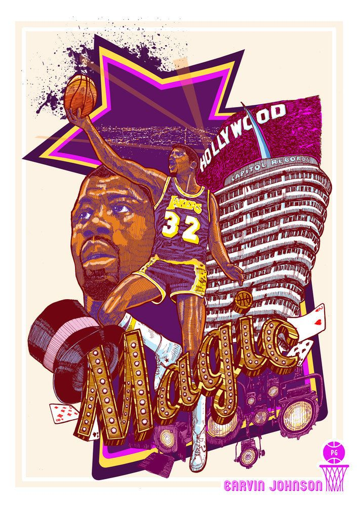 Does anyone want some?Magic Johnson by Karl Yvan Tagle