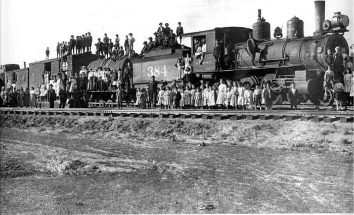 The Orphan Train Movement was a social experiment that transported children from crowded coastal cities of the United States, such as New York City and Boston, to willing foster homes across the country. The orphan trains ran between 1854 and 1929, relocating an estimated 250,000 orphaned, abandoned, or homeless children.
