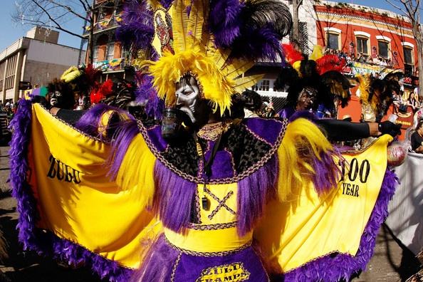 A member of the Zulu parade walks along St. Charles Avenue on Mardi Gras day on February 24, 2009 in New Orleans, Louisiana.Hipmunk Buckets, Mardi Gras Carnivale, Buckets Lists, Favorite Places, February, Parade Walks, Gras Finest, Zulu Parade, Charles Avenue