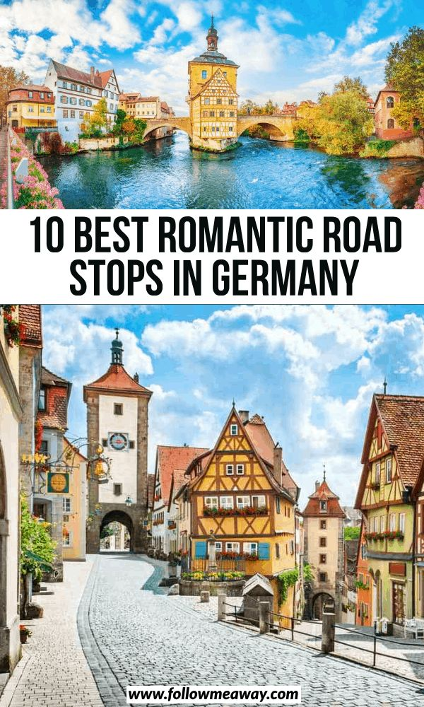 10 Picturesque Stops On The Romantic Highway Germany