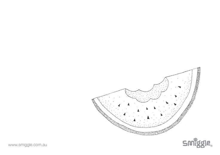 YUM! watermelon!!