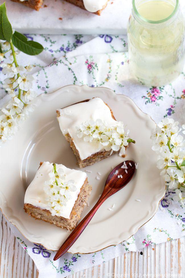 Ciasto ananasowe, hummingbird cake #ciasto #ananas #cake #hummingbird
