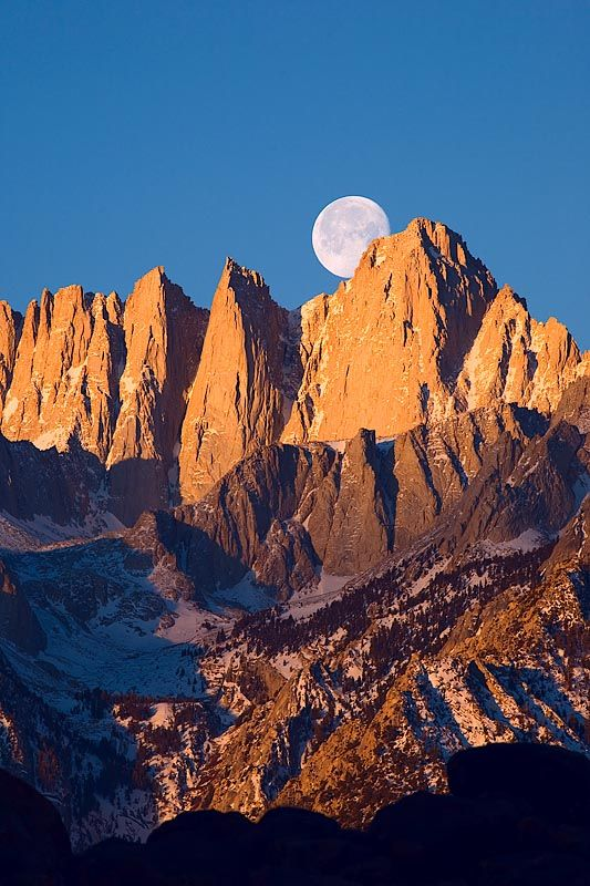 I will be on top of Mt. Whitney, the highest peak in the continental United States, on Sept 13, 2014 - fun in the sun and moon light