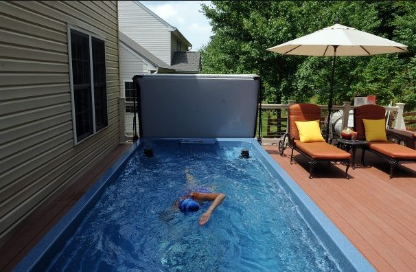 17 best images about swimming in place on pinterest swim for Built in swimming pools