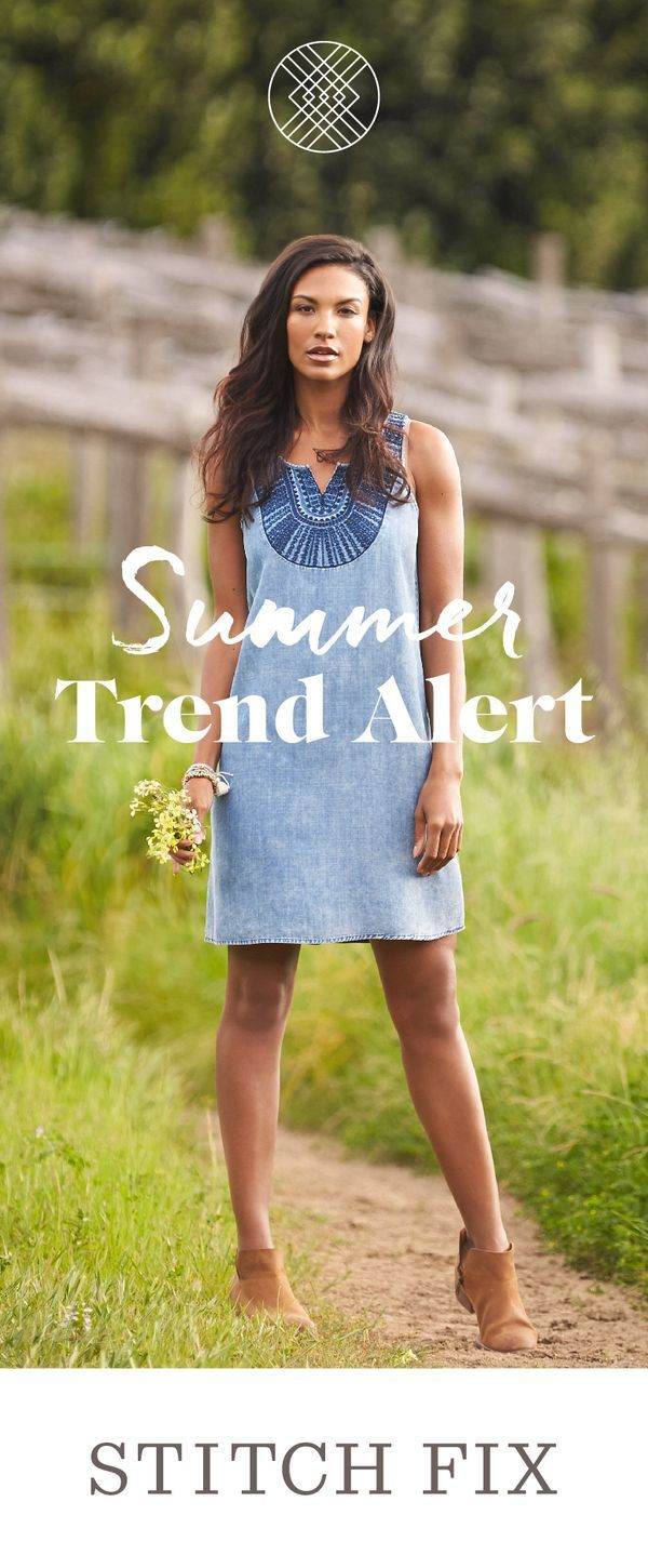 Nothing says summer like breezy peasant tops with statement embroidery. Take this festival favorite to the streets with skinny jeans & heels. #StylistTip: Add to the boho flow with an oversized drawstring bucket bag. Sign up for Stitch Fix & take a vacation from shopping this summer. Your personal stylist will send you the hottest trends, personalized for your body and budget!