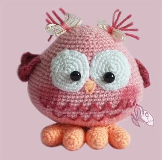 CROCHET - OWL - Amigurumi Owl