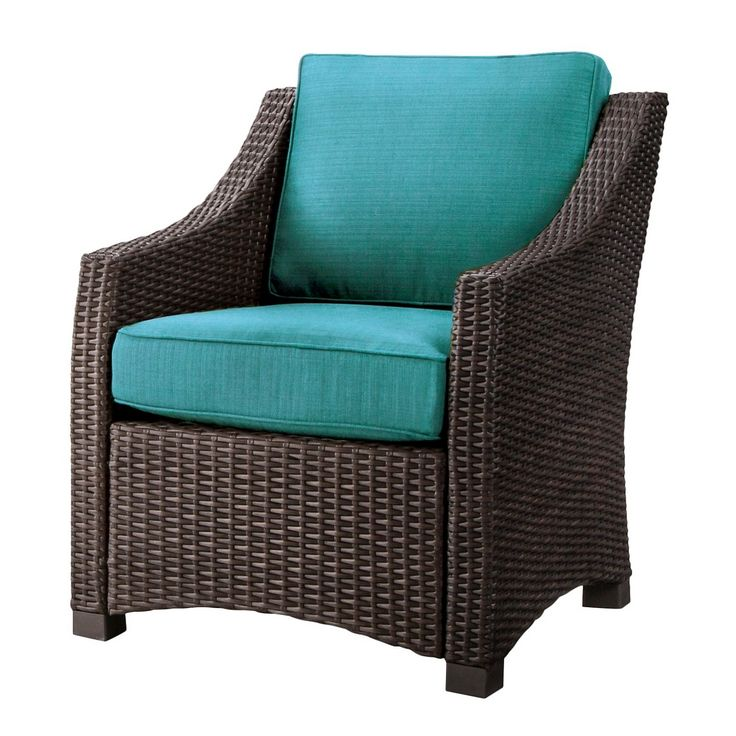 Belvedere Wicker Patio Club Chair Threshold™