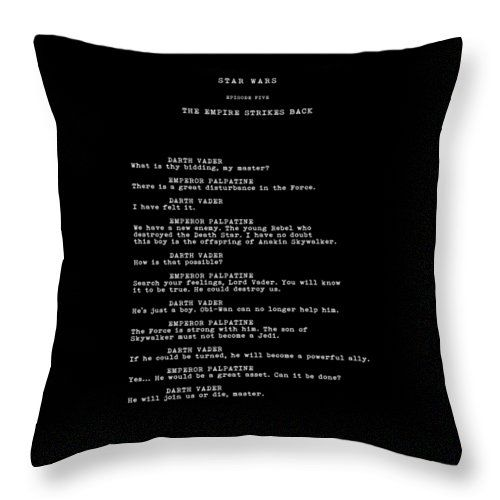 What Is Thy Bidding Throw Pillow for Sale by Mark Rogan