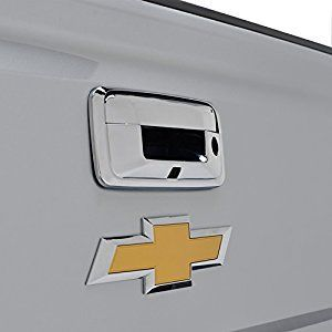 Triple Chrome ABS Tailgate Door Cover for 14-16 Chevrolet Silverado 1500 / 14-16 GMC Sierra 1500 / 15-16 Chevrolet Silverado 2500/3500 / 15-16 GMC Sierra 2500/3500 ( 64-0135 )