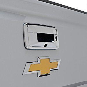 Triple Chrome ABS Tailgate Door Cover for 14-16 Chevrolet Silverado 1500 / 14-16 GMC Sierra 1500 / 15-16 Chevrolet Silverado 2500/3500 / 15-16 GMC Sierra 2500/3500 ( 64-0135 )