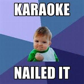 9f4134163ca8ce8aa8a52cfa88e33a67 best 25 karaoke funny ideas on pinterest flash funny, barry and,Karaoke Meme