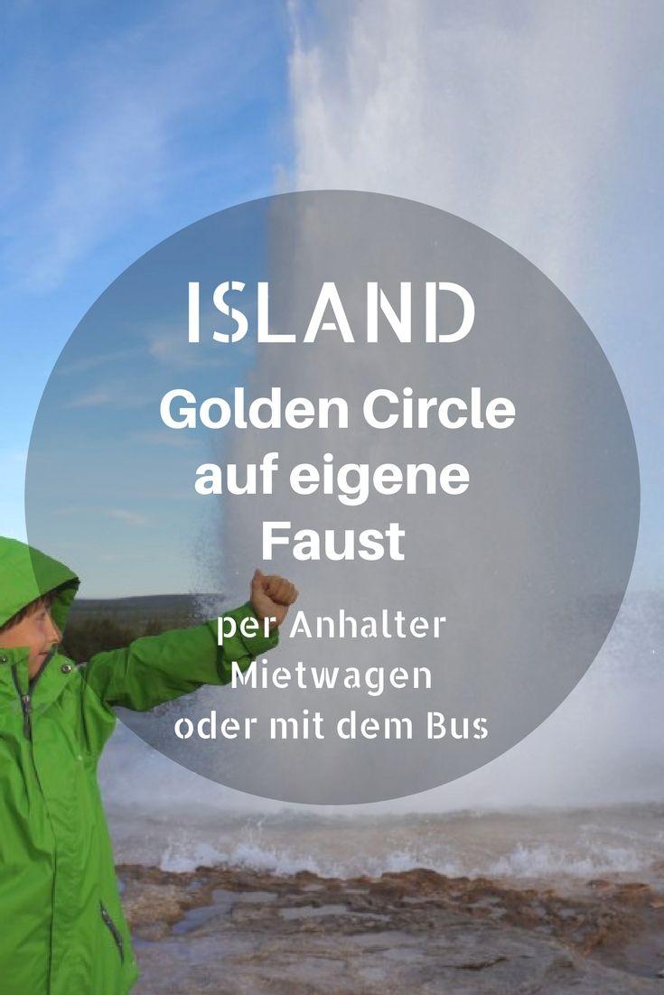 Die Golden Circle Tour gehört bei einer Reise nach Island einfach dazu. Der Golden Circle ist die beliebteste Tagestour in Island und eignet sich besonders für Reisende, die nur wenig Zeit haben und möglichst viel von Island sehen möchten. Auf 300 Kilometern kannst du auf der Route die drei Hauptattraktionen Islands, den Thingvellir Nationalpark, den Geysir und Strokkur und den Gullfoss Wasserfall besuchen.  Wir waren drei Wochen in Island unterwegs und haben die Tour gleich zwei Mal…