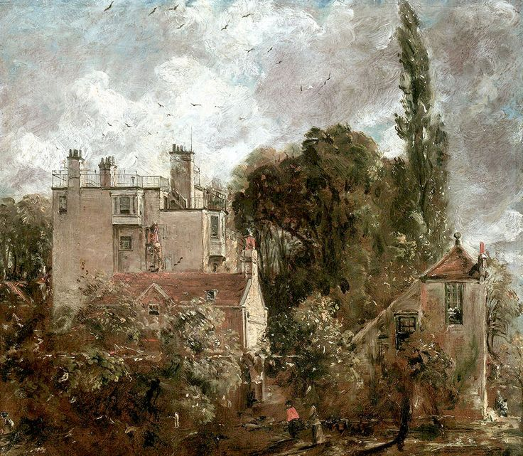"Constable John - Grove Or Admirals House In Hampstead 1821 22  (from <a href=""http://www.oldpainters.org/picture.php?/50473/category/16355""></a>)"