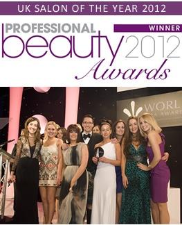 Winning UK salon of the year @Kathy Giebler Thompson and beauty awards 2012