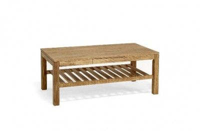 Cacao sofabord oiled oak sofa table wodden drawer shelf swedish design torkelsson. www.helsetmobler.no