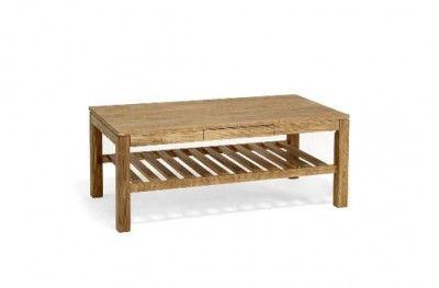 Cacao sofabord oiled oak sofa table wodden drawer shelf swedish design torkelsson. www.helsetmobler.no