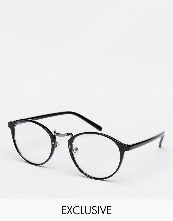 Image 1 ofReclaimed Vintage Clear Lens Glasses