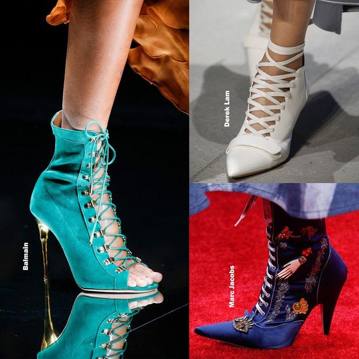 Shoe trends Spring 2016 - Laced high heels / Cipő divat 2016 tavasz - Fűzős magassarkú