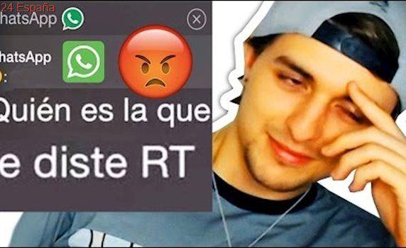 Los WhatsApp de mi Novia PSICÓPATA