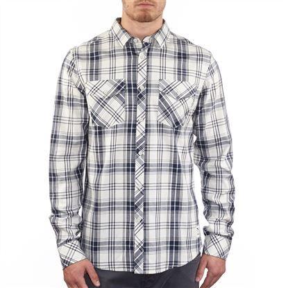IRIEDAILY Mc Valle LS Shirt || Das karierte Hemd mit Kent-Kragen und durchgehender Knopfleiste hat einen soliden Look.