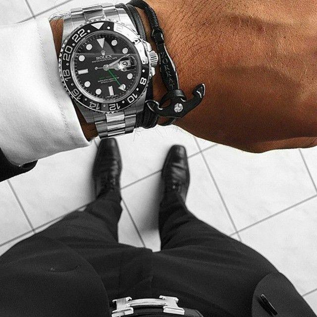 Rolex GMT-Master II & The Zorrata Black Anchor bracelet
