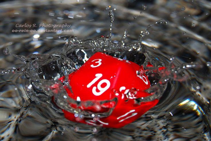 Dice Splash 19 by oO-Rein-Oo.deviantart.com on @deviantART