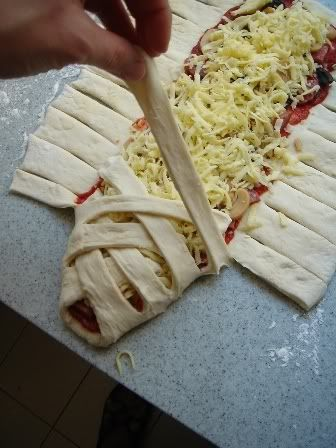 Wrapped Up Pizza