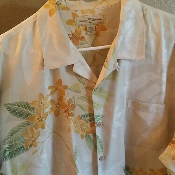 Selling this Authentic Tommy Bahama mens silk shirt in my Poshmark closet! My username is: jeffvandermate. #shopmycloset #poshmark #fashion #shopping #style #forsale #Tommy Bahama #Tops