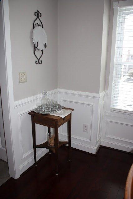 Sharkey Grey by Martha Stewart. Loving this grey for Formal Living/Dining room.