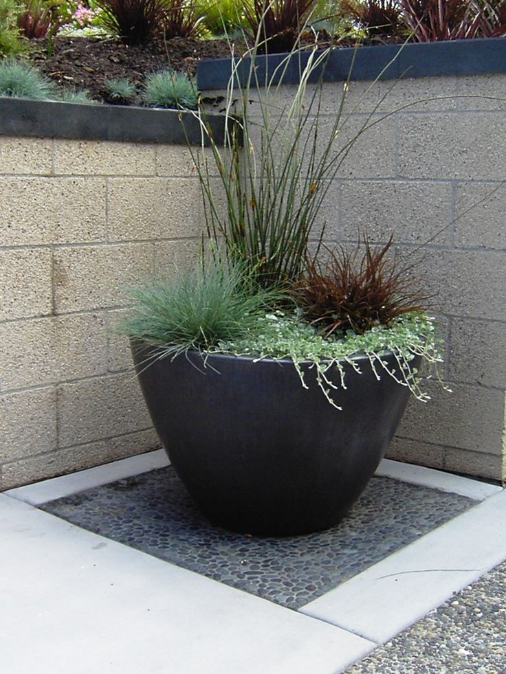 Potted Patio Plant Designs | Sensational Plant Pots decorating ideas for Aesthetic Landscape ...