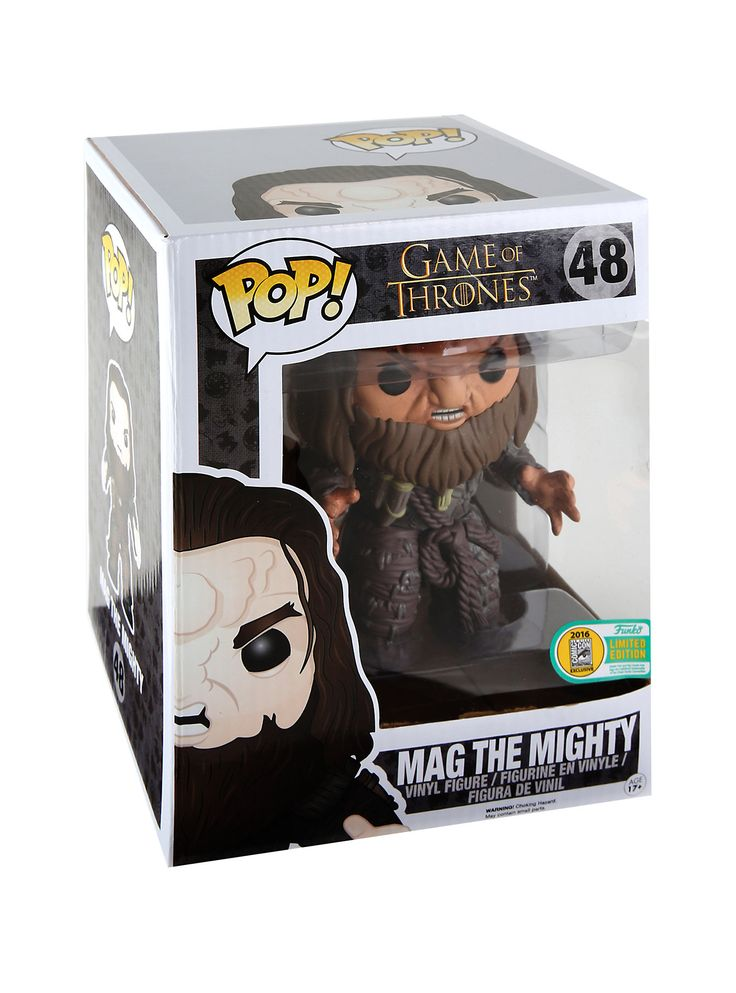 """Funko Game Of Thrones Pop! Mag The Mighty 6"""" Vinyl Figure 2016 Summer Convention Exclusive 
