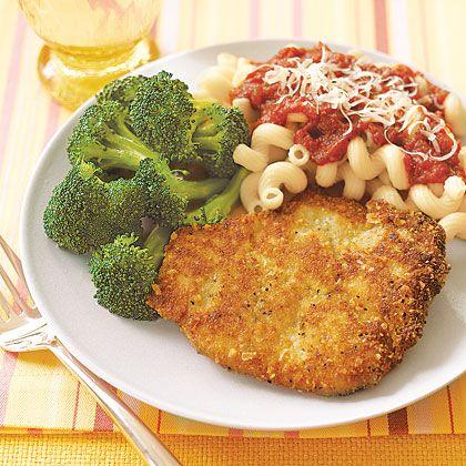 Parmesan Pork Cutlets Recipe | MyRecipes.com