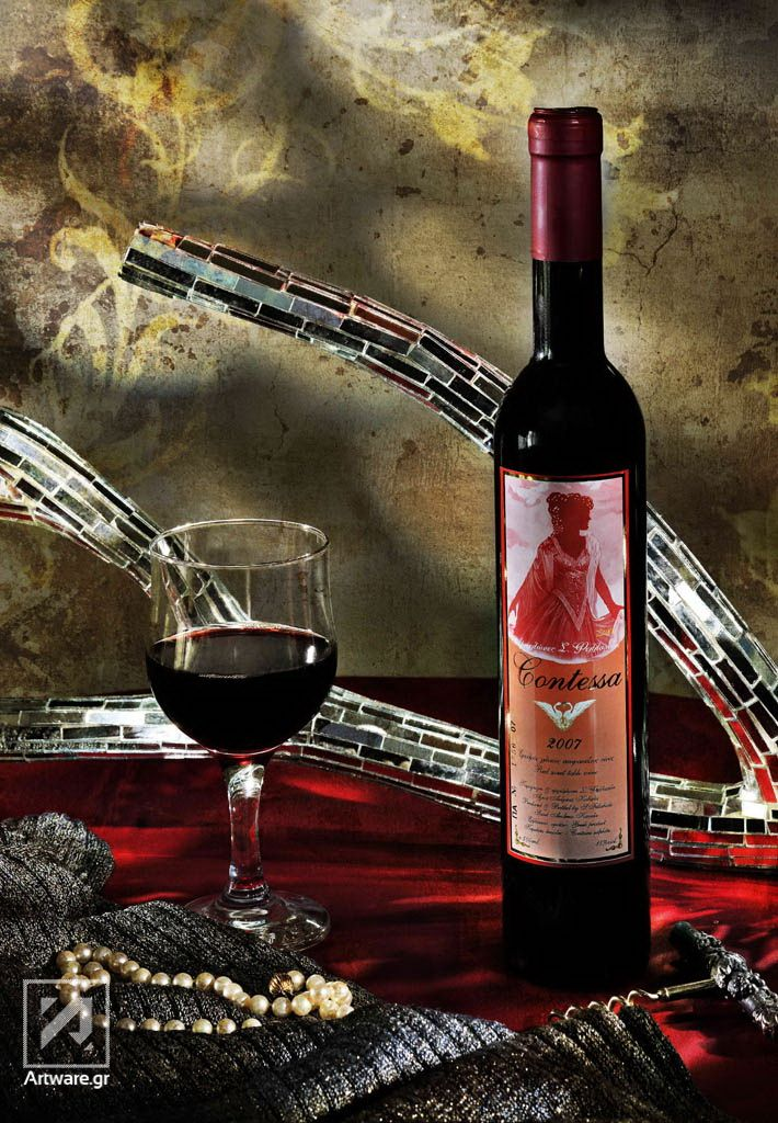 Wine bottle by Artware
