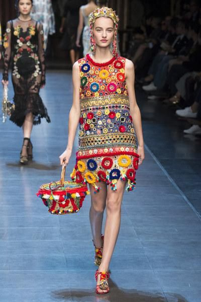 Dolce & Gabbana Spring 2016. See every stunning look on Vogue.com
