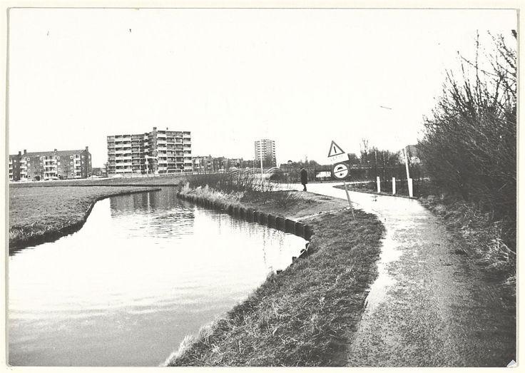 Haarlem, Schoterkerkpad. 1980