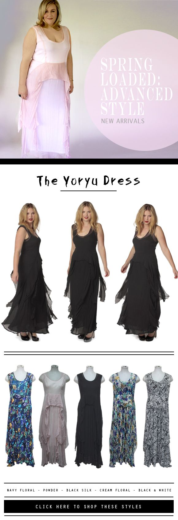 Oh my, love this dress by The Carpenters Daughter! I need the black one, it's gorgeous!