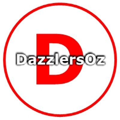 Click to Follow our Twitter feed @DazzlersOz